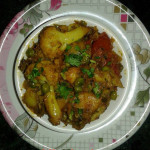 Aloo Gobi Matar Recipe in Hindi