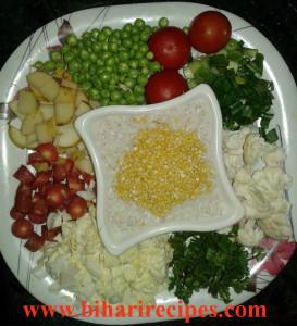 vegetable khichdi recipe-Bihari Recipes