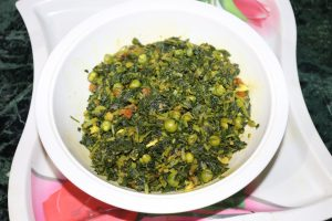 Methi Saag Recipe in Hindi