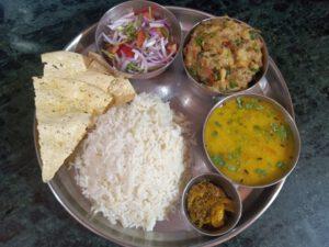 Daal Bhaat Chokha Recipe